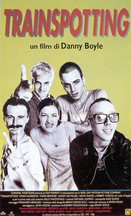 Locandina italiana Trainspotting