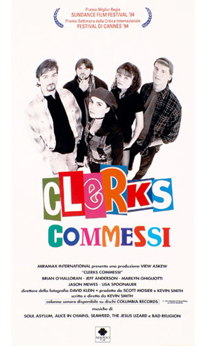 Locandina italiana Clerks - Commessi