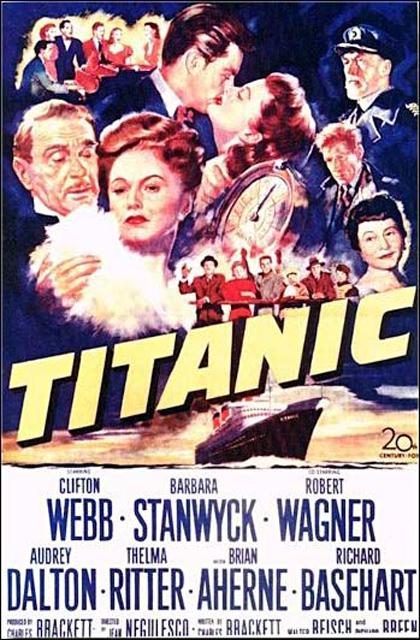 Locandina italiana Titanic