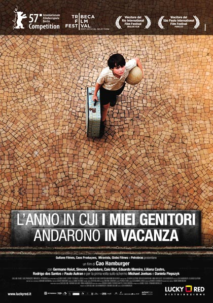 Locandina italiana L'anno in cui i miei genitori andarono in vacanza