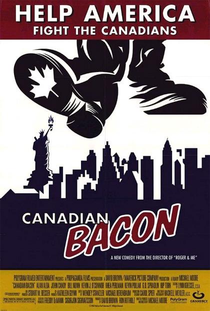 Locandina italiana Operazione Canadian Bacon