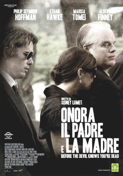 Locandina italiana Onora il padre e la madre