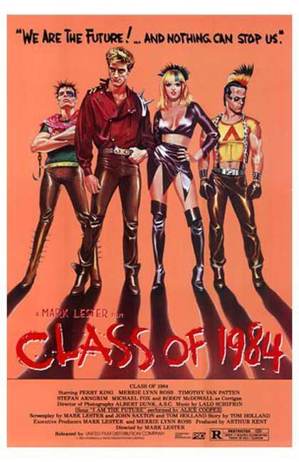 Locandina italiana Classe 1984