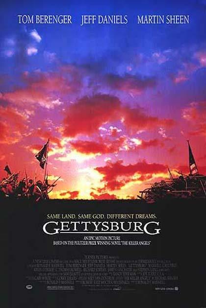 Locandina Gettysburg
