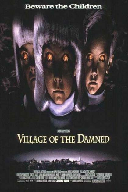 Locandina Il villaggio dei dannati