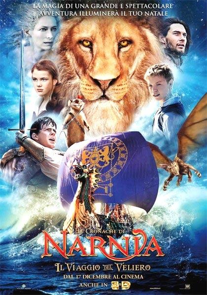 Locandina italiana Le Cronache di Narnia - Il viaggio del veliero