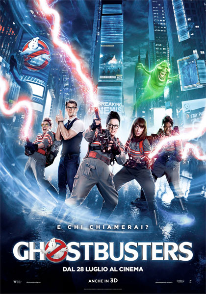 Locandina italiana Ghostbusters 3D