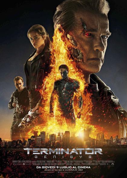 Locandina italiana Terminator Genisys