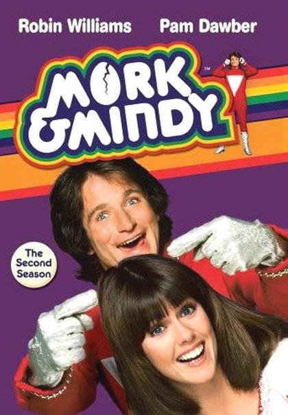 Risultati immagini per Mork e Mindy