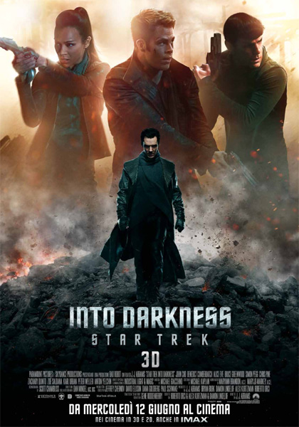 Locandina italiana Into Darkness - Star Trek
