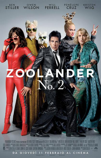 Locandina italiana Zoolander 2
