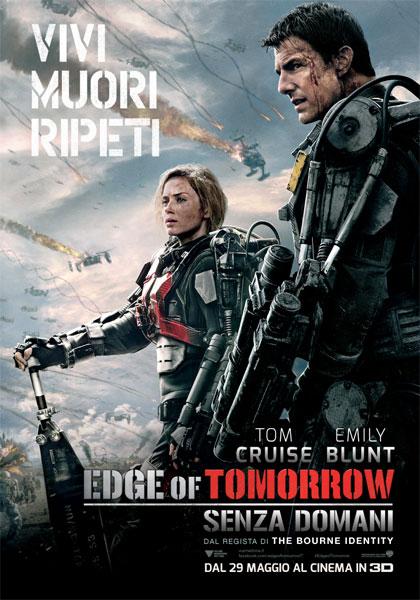 Locandina italiana Edge of Tomorrow - Senza domani