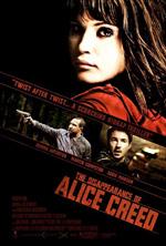 Locandina La scomparsa di Alice Creed