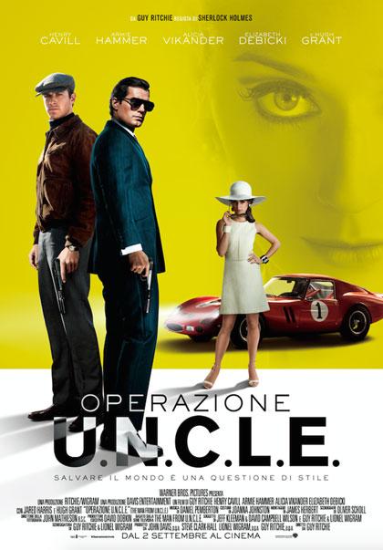 Locandina italiana Operazione U.N.C.L.E.
