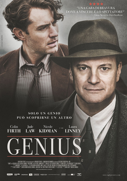 Genius Colin Firth Jude Law
