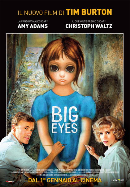 Locandina italiana Big Eyes