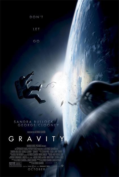 La locandina del film Gravity