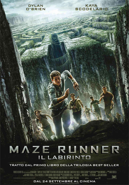 Locandina italiana Maze Runner - Il labirinto