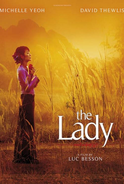 Poster The Lady - L'amore per la libertà