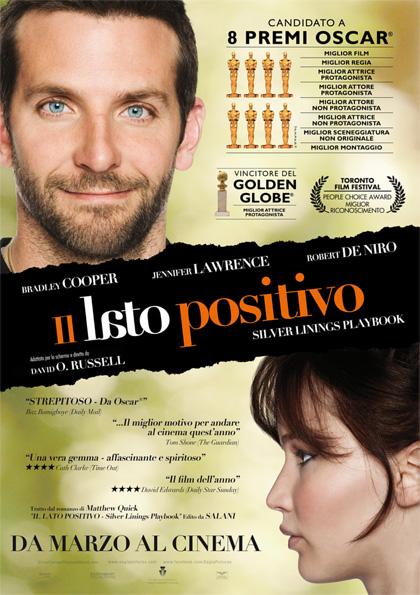 Locandina italiana Il lato positivo - Silver Linings Playbook