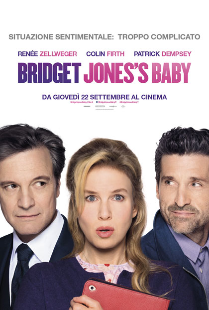 Locandina italiana Bridget Jones's Baby