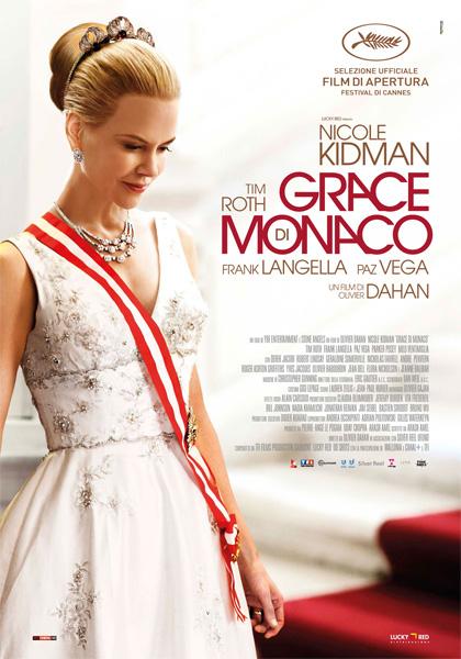 Locandina italiana Grace di Monaco