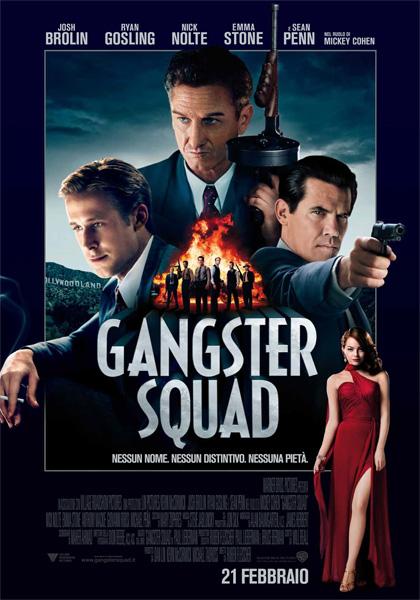 Locandina italiana Gangster Squad