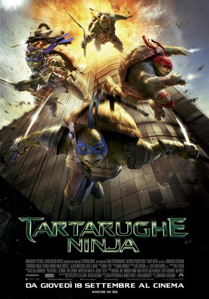 Locandina italiana Tartarughe Ninja