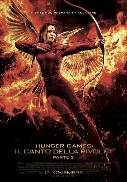 Locandina italiana Hunger Games: Il canto della rivolta - Parte II