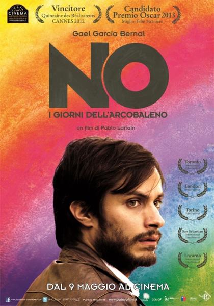 Locandina italiana No - I giorni dell'arcobaleno