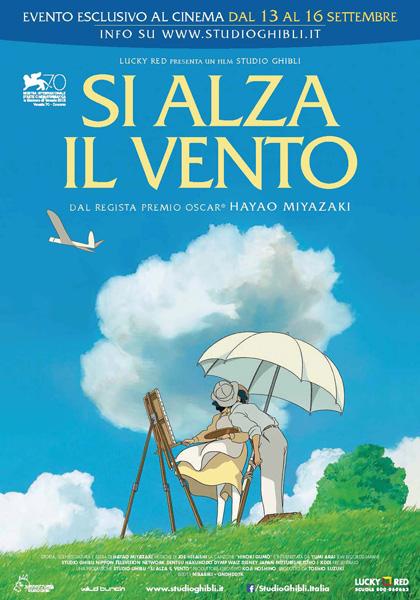Locandina italiana Si alza il vento
