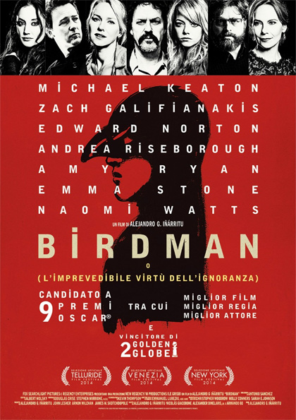 Locandina italiana Birdman