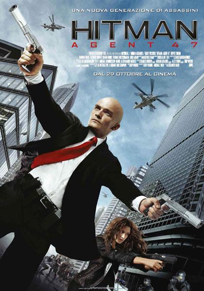 Locandina italiana Hitman: Agent 47