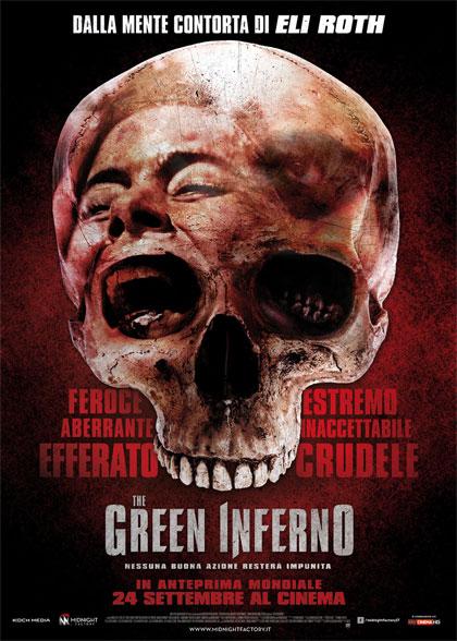 Locandina italiana The Green Inferno