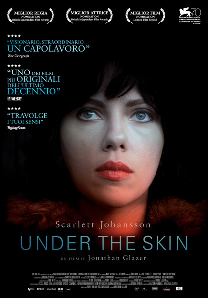Locandina italiana Under the Skin