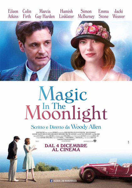 "La locandina del film ""Magic In The Moonlight"" di Woody Allen"