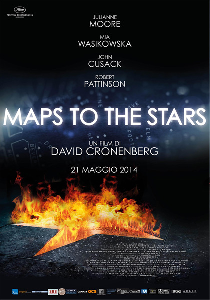 Locandina italiana Maps to the Stars