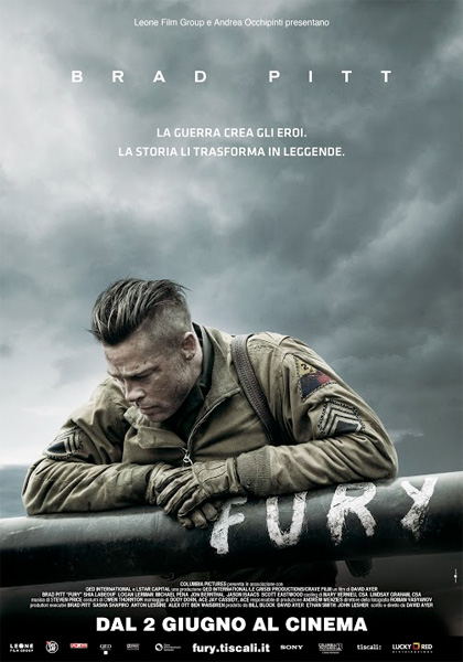 Cinema, le novità: Fury, La risposta è nelle stelle e Le regole del caos (2/6)