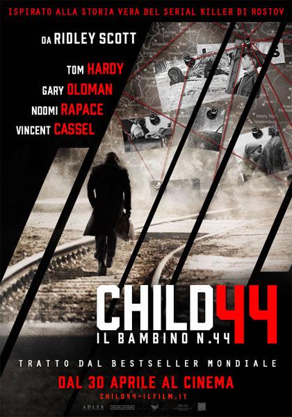 Locandina italiana Child 44 - Il bambino n. 44