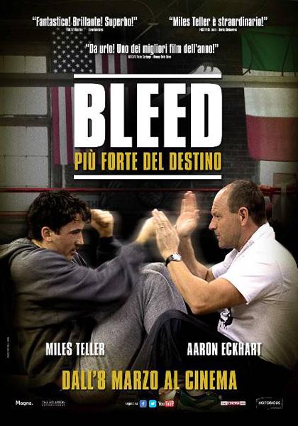 Locandina italiana Bleed - Più forte del destino