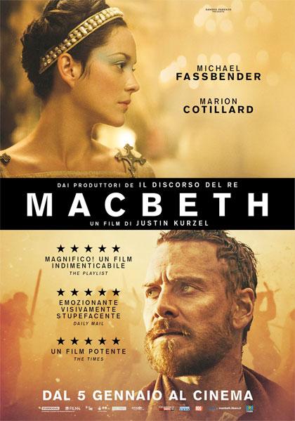Locandina italiana Macbeth