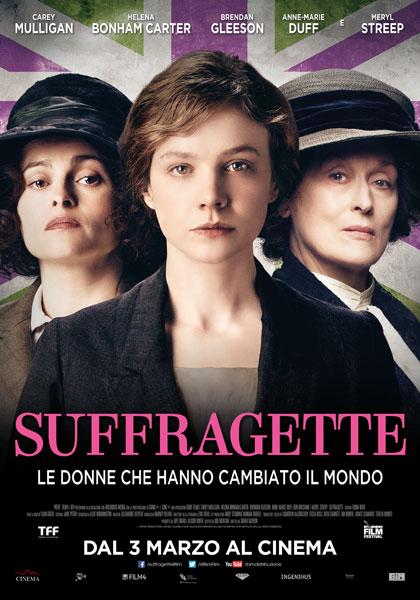Locandina italiana Suffragette