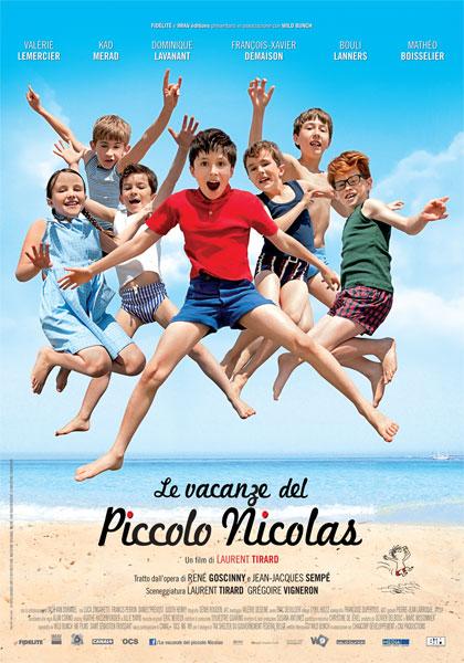 Locandina italiana Le vacanze del piccolo Nicolas