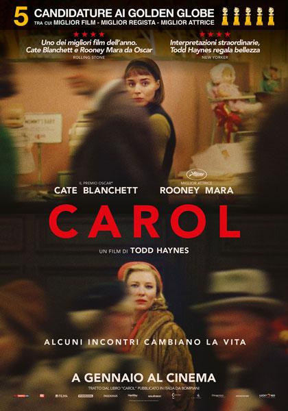Locandina italiana Carol
