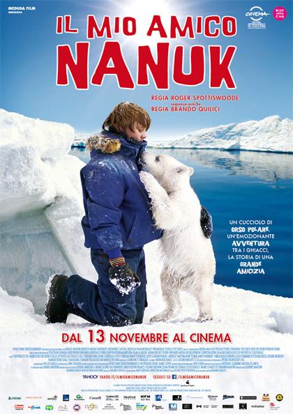 Locandina italiana Il mio amico Nanuk