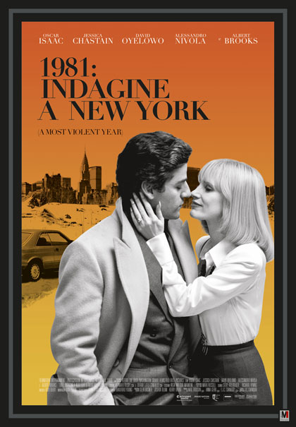 Locandina italiana 1981: Indagine a New York