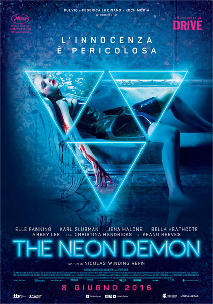 Locandina italiana The Neon Demon