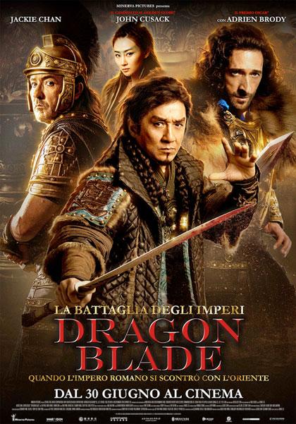 Locandina italiana La battaglia degli imperi - Dragon Blade