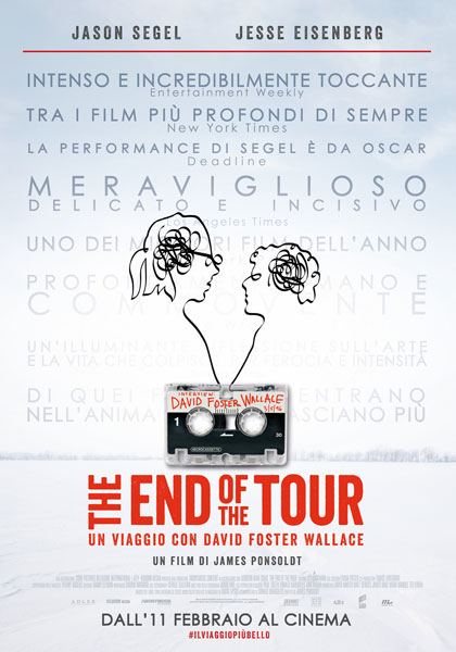 Locandina italiana The End of the Tour