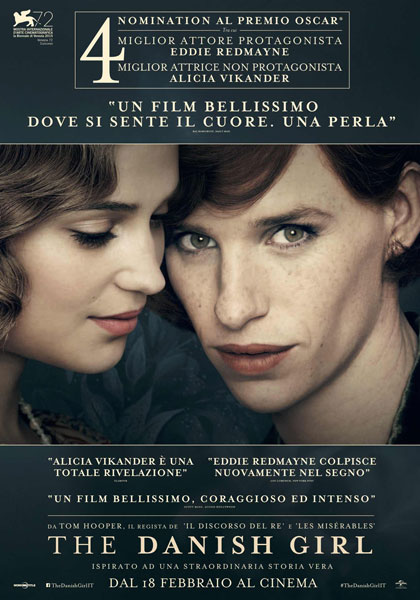 Locandina italiana The Danish Girl